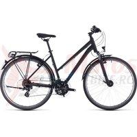 Bicicleta Cube Touring Trapeze Black/Blue 2020