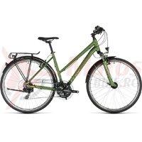 Bicicleta Cube Touring Trapeze Green/Silver 2019