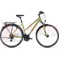 Bicicleta Cube Touring Trapeze Green/White 2020