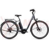 Bicicleta Cube Town Hybrid EXC 500 Easy Entry Iridium/Black 2021