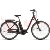 Bicicleta Cube Town Hybrid EXC 500 Easy Entry red/black 2020