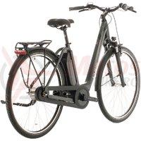 Bicicleta Cube Town Hybrid One 400 Easy Entry Iridium/Black 2020