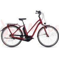 Bicicleta Cube Town Hybrid Pro 400 Trapeze Darkred/Red 2018