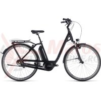 Bicicleta Cube Town Hybrid Pro 500 Easy Entry Black/Grey 2018