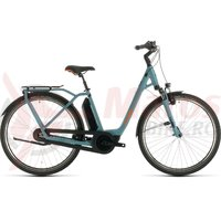 Bicicleta Cube Town Hybrid Pro 500 Easy Entry blue/orange 2020