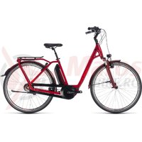 Bicicleta Cube Town Hybrid Pro 500 Easy Entry Darkred/red 2018