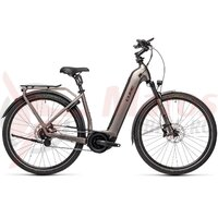 Bicicleta Cube Town Hybrid SL 500 Easy Entry Teak/Black 2021
