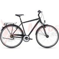 Bicicleta Cube Town Pro black/black 2018