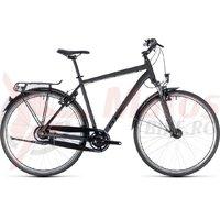 Bicicleta Cube Town Pro Comfort black/black 2018