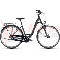 Bicicleta Cube Town Pro Comfort Easy Entry black/black 2018