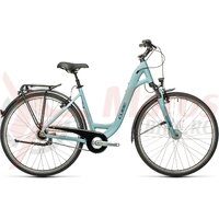 Bicicleta Cube Town Pro Easy Entry Blue/Grey 28' 2021