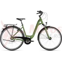Bicicleta Cube Town Pro Easy Entry Green/Silver 2019