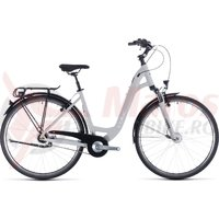 Bicicleta Cube Town Pro Easy Entry Grey/White 2020