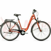 Bicicleta Cube Town Pro Easy Entry Red/Grey 28' 2021