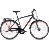 Bicicleta Cube Town Pro Iridium/Black 2019