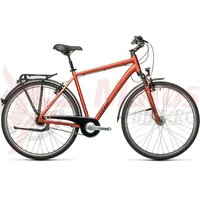 Bicicleta Cube Town Pro Red/Grey 28