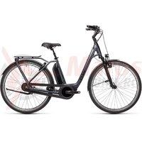 Bicicleta Cube Town RT Hybrid EXC 500 Easy Entry Iridium/Black 2021