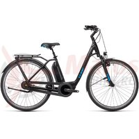 Bicicleta Cube Town RT Hybrid Pro 500 Easy Entry Black/Blue  2021