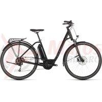 Bicicleta Cube Town Sport Hybrid One 400 Easy Entry Black/Grey 2019