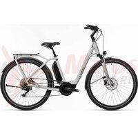 Bicicleta Cube Town Sport Hybrid Pro 500 Easy Entry Grey/Grey 2021