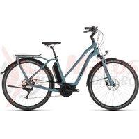 Bicicleta Cube Town Sport Hybrid PRO 500 Trapeze Blue/Black 2019
