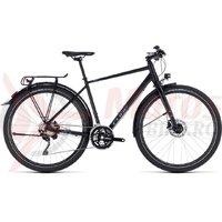 Bicicleta Cube Travel EXC black/grey 2018