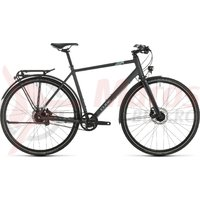 Bicicleta Cube Travel EXC Iridium/Blue 2020