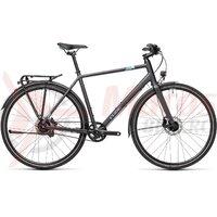 Bicicleta Cube Travel EXC Iridium/Blue 2021