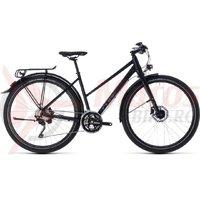 Bicicleta Cube Travel EXC Trapeze black/grey 2018