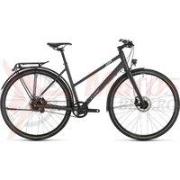 Bicicleta Cube Travel EXC Trapeze Iridium/Blue 2020