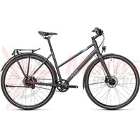 Bicicleta Cube Travel EXC  Trapeze Iridium/Blue 2021