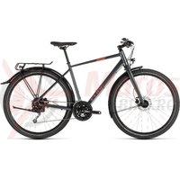 Bicicleta Cube Travel Iridium/Red 2019