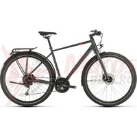 Bicicleta Cube Travel Iridium/Red 2020
