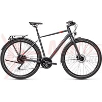 Bicicleta Cube Travel Iridium/Red 2021