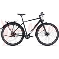 Bicicleta Cube Travel Pro black/white 2018