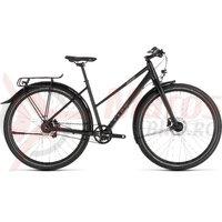 Bicicleta Cube Travel PRO Trapeze Black/Brown 2019