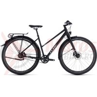 Bicicleta Cube Travel Pro Trapeze black/white 2018