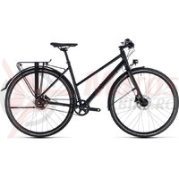 Bicicleta Cube Travel SL Trapeze black/black 2018