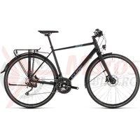 Bicicleta Cube Travel Sport Black/Blue 2019