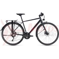 Bicicleta Cube Travel Sport iridium/red 2018