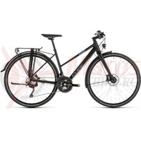 Bicicleta Cube Travel Sport Trapeze Black/Blue 2019