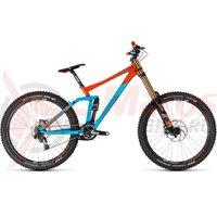 Bicicleta Cube TWO15 SL 27.5 blue/orange 2018