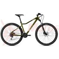 Bicicleta dama Ghost Lanao 27,5' Essential AL W Verde/Maro 2021