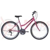 Bicicleta dama Neuzer Nelson Revo 26' Magenta/Negru-Gri