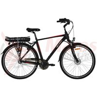 Bicicleta Devron 28121 negru mat