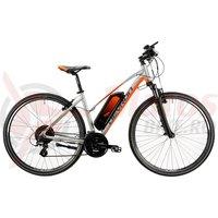Bicicleta Devron 28162 argintie 2019