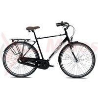 Bicicleta Devron Urbio C1.8 charcoal black 2017