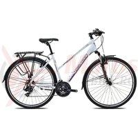 Bicicleta Devron Urbio LT1.8 pure white 2017