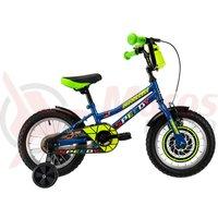Bicicleta DHS 1401 Kids albastru 2019