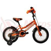 Bicicleta DHS 1403 portocalie 2018